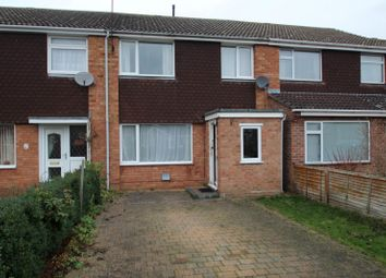 Thumbnail 3 bed terraced house to rent in Kestrel Close, St. Ives, Huntingdon