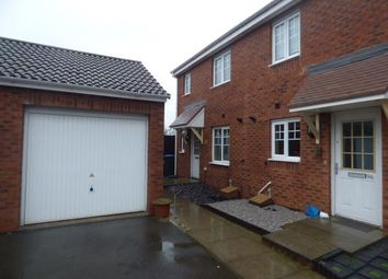 Thumbnail 3 bed end terrace house for sale in Izod Road, Rugby