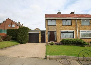 Thumbnail 3 Bed Semi Detached House For Sale In Dalton Way, Newton Aycliffe