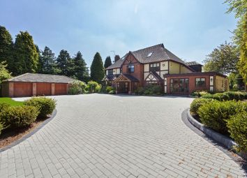 Thumbnail 7 bed detached house for sale in Shut Lane Head, Butterton, Newcastle-Under-Lyme
