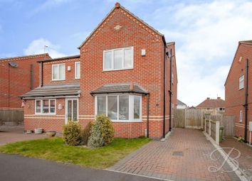 Thumbnail 3 bed semi-detached house for sale in Amber Grove, Forest Town, Mansfield