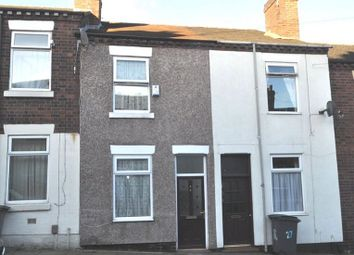 Thumbnail 3 bed terraced house for sale in Boughey Street, Stoke, Stoke On Trent