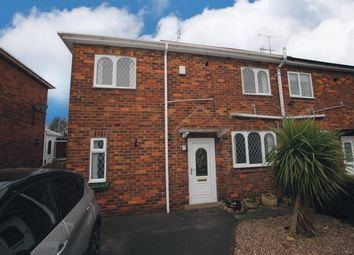 Thumbnail 2 bed semi-detached house to rent in Franklin Crescent, Whitwell, Worksop