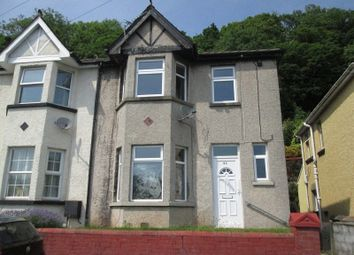Thumbnail 3 bed semi-detached house for sale in Herbert Avenue, Risca, Newport.