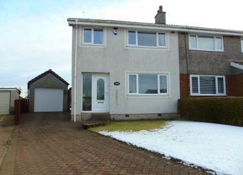 Thumbnail 3 bed semi-detached house for sale in Glenview Crescent, Moodiesburn, Glasgow