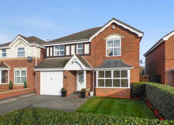 Thumbnail 4 bed detached house for sale in Jewsbury Avenue, Measham, Swadlincote