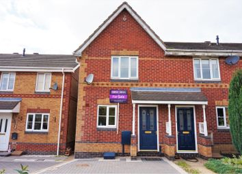 Thumbnail 2 bed town house for sale in Middle Close, Swadlincote