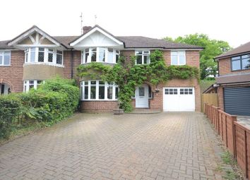 Thumbnail 5 bed semi-detached house to rent in Ryecroft Close, Woodley, Reading