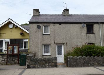 Thumbnail 2 bed end terrace house for sale in Ogwen Terrace, High Street, Bethesda, Bangor