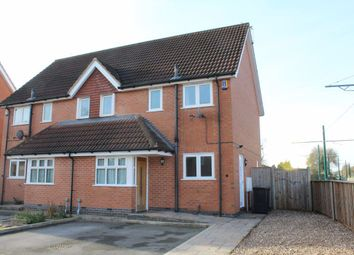 Thumbnail 3 bed semi-detached house to rent in Brookchase Mews, Chilwell, Nottingham