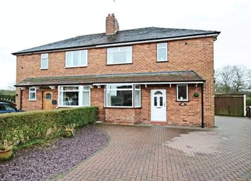 Thumbnail 3 bedroom semi-detached house for sale in Lawton Avenue, Church Lawton, Stoke-On-Trent