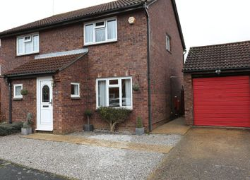 Thumbnail 2 bed semi-detached house for sale in Easby Way, Lower Earley, Reading