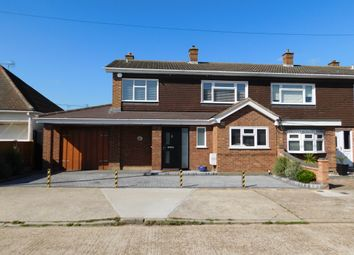 Green Avenue, Canvey Island SS8. 3 bed semi-detached house