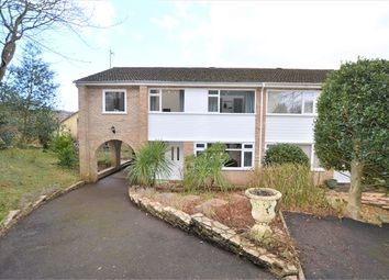 Thumbnail 4 bed semi-detached house for sale in Keyberry Close, Decoy, Newton Abbot, Devon.