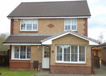 Thumbnail 4 bed detached house for sale in Ivy Way, Chapelhall, Airdrie, North Lanarkshire