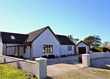 Thumbnail 4 bed detached bungalow for sale in Old Croft, Fochabers