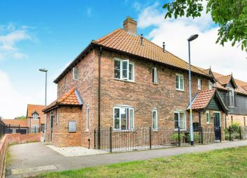 Thumbnail 2 bedroom terraced house for sale in Mallow Close, Attleborough