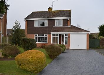 Thumbnail 3 bed detached house for sale in Glendon Close, Market Drayton