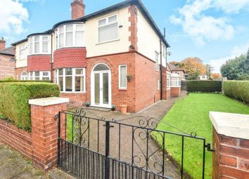 Thumbnail 3 bed semi-detached house for sale in Ruskin Road, Old Trafford, Manchester, Greater Manchester