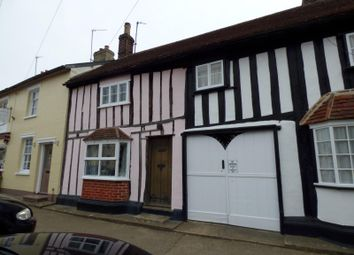 Thumbnail 4 bedroom terraced house to rent in Hall Street, Long Melford, Sudbury