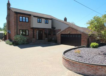 Thumbnail 4 bed detached house for sale in Prince Of Wales Road, Upton, Norwich