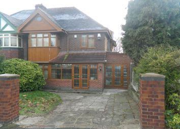 Thumbnail 4 bedroom semi-detached house for sale in Eastbourne Avenue, Hodge Hill, Birmingham