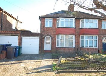 Thumbnail 3 bedroom semi-detached house for sale in Braemar Gardens, Colindale