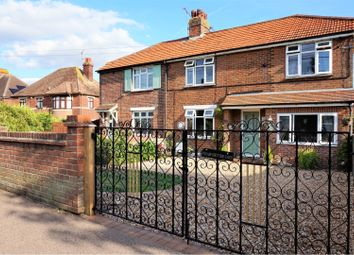 Thumbnail 4 bed semi-detached house for sale in Popes Lane, Sturry, Canterbury