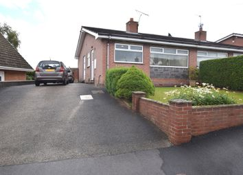 Thumbnail 2 bedroom semi-detached bungalow for sale in Birch Road, Bignall End, Stoke-On-Trent