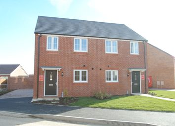 Thumbnail 2 bed semi-detached house for sale in Geston Place, Twyning, Tewkesbury