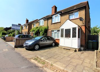 Thumbnail 3 bed semi-detached house for sale in Walton Road, East / West Molesey