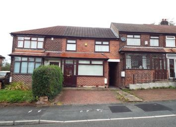 Thumbnail 3 bed terraced house for sale in Broomhall Road, Blackley, Manchester, Greater Manchester