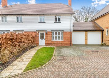 Thumbnail 3 bed semi-detached house for sale in Hollow Trees Close, Leigh, Tonbridge
