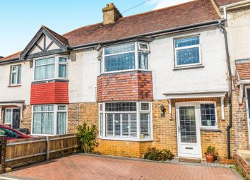 Thumbnail 3 bed terraced house for sale in Lullington Avenue, Hove