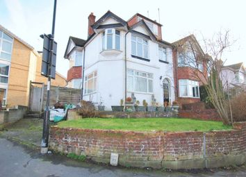 Thumbnail 3 bed semi-detached house for sale in Manor Farm Road, Southampton
