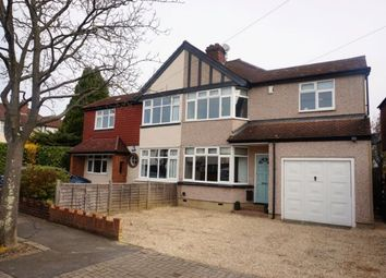 Thumbnail 3 bed semi-detached house to rent in Mornington Avenue, Bromley