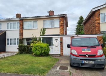 Thumbnail 3 bed semi-detached house to rent in Poplar Drive, Royston
