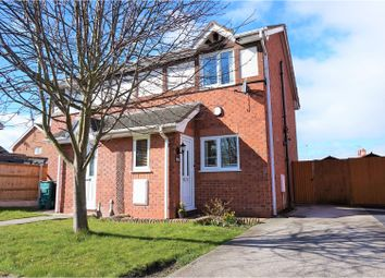 Thumbnail 2 bed semi-detached house for sale in Cadwalader, Rhyl