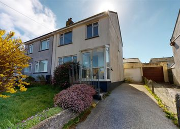 Thumbnail 3 bed semi-detached house for sale in Highland Park, Redruth, Cornwall