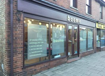 Thumbnail Retail premises for sale in Market Street, Whittlesey, Peterborough