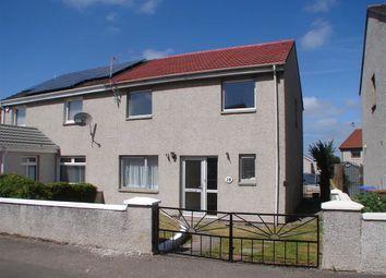 Thumbnail 3 bed semi-detached house for sale in Croft Road, New Elgin, Elgin