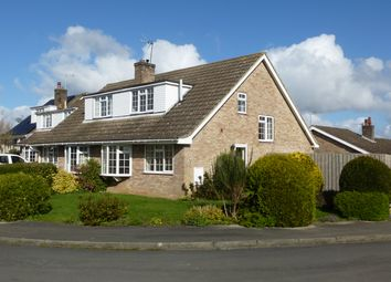 Thumbnail 3 bed semi-detached bungalow to rent in The Croft, Sheriff Hutton, York
