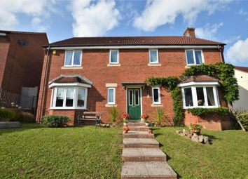 Thumbnail 4 bed detached house for sale in Jocelyn Mead, Crediton, Devon