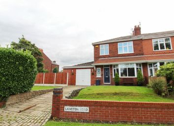 Thumbnail Semi-detached house for sale in Lambton Road, Worsley, Manchester