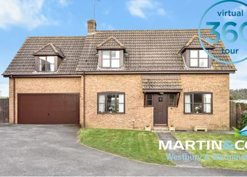 Thumbnail 4 bed detached house for sale in The Downlands, New Road, Codford, Nr Warminster