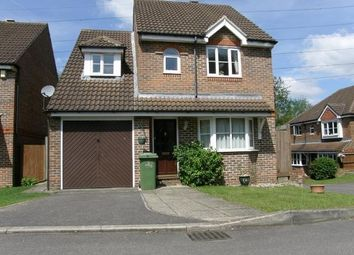 Thumbnail 3 bed detached house for sale in Woodland Walk, Chessington