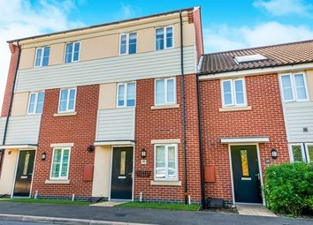 Thumbnail 3 bed town house for sale in Narrowboat Lane, Hunsbury Meadows, Northampton