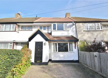 Thumbnail 4 bed terraced house for sale in Heathcroft Avenue, Sunbury-On-Thames, Surrey