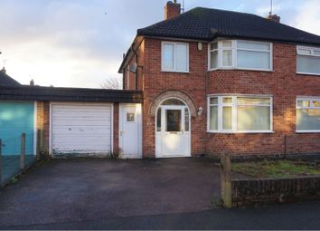 Thumbnail 3 bed semi-detached house for sale in Ruskington Drive, Wigston
