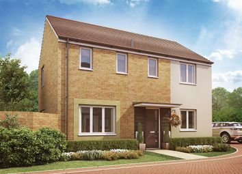 "Thumbnail 3 bed detached house for sale in ""The Clayton Corner"" at Christie Drive, Hinchingbrooke Park Road, Huntingdon"